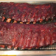 Smoked BBQ Spare Ribs - Low and Slow