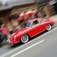 Porsche 356B T61600 Super Coupe red hl2