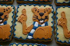 Penn State Nittany Lion by Color Me Cookie