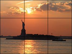 using the rule of thirds Great