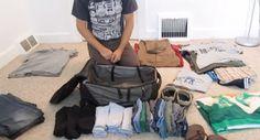 Comment faire pour que toutes ses affaires rentrent dans une petite valise ? La solution est là