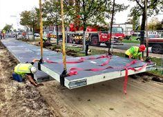 The Netherlands Gets the World's First Solar-Powered Bike Lane / @citylab | #readyforsustainability #sci #tech #inn #socialcities