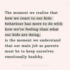 Gentle Parenting, Parenting Advice, Kids And Parenting, Words Quotes, Wise Words, Sayings, Social Emotional Activities, Emotional Awareness, Conscious Parenting