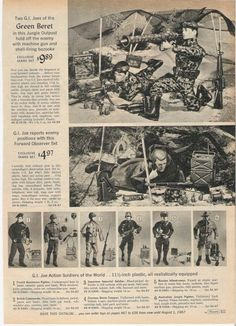 Sears Christmas Catalogue 1967 Green Beret