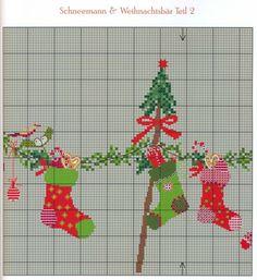 Schneemann & Weihnachtsbar Teil 2 | Gallery.ru / Фото #52 - Вышивка 19 - kuritsa-kusturitsa