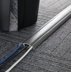 Features: -Includes double sided adhesive tape. -Ideal in high traffic area to hide cords and prevent tripping accidents. -Flexible rubber cover that is easier to lay flat. -Capable to remove cord