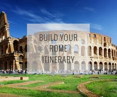 Set your dates, pace and interests, and our Rome Travel Guide recommend an itinerary of top attractions organized to reduce traveling around plus a map to help direct you.