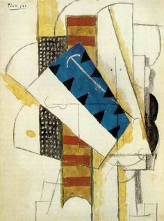 Pablo Picasso, head of man, 1913