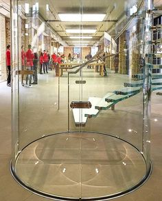 Apple store glass staircase  #applestore #glassstairs #london  #coventgarden