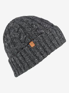 16a17cb19cd954 Men's Burton Bering Beanie shown in True Black Burton Snowboards, Winter  Hats For Men,