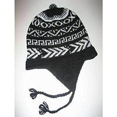 Wholesale Peruvian 6 Chullo Ski Hat Alpaca Blend Flap Cap Hand Made Review bc09fe9675a