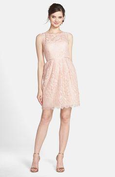 Jenny Yoo 'Harlow Lyon' Gilded Lace Dress