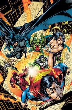 JLA by Grant Morrison and Howard Porter- My favorite Justice League run (and my favorite JL line-up, incidentally)