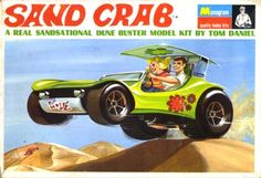 Here's a mod styled dune buggy by Tom Daniel that'll flake the salt off your parched lips and shake the sand out of your sockets!