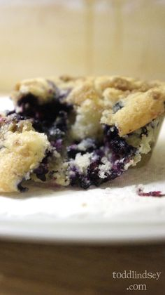 Todd & Lindsey: Blueberry Coffee Cake Muffins