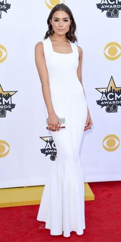 Best Looks from the 2015 Academy of Country Music Awards - Olivia Culpo from #InStyle