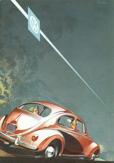 Volkswagen, trade catalogue The Honest Car, 1950s.... - Design is fine. History is mine.
