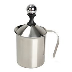 Stainless Steel Double Mesh Milk Creamer Milk Foam Milk Frother 200 milliliters ** To view further for this item, visit the image link.  This link participates in Amazon Service LLC Associates Program, a program designed to let participant earn advertising fees by advertising and linking to Amazon.com.
