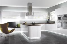 Fotos Minimalista Diseño de la cocina por scenarhome.us
