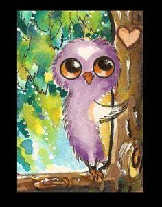 'April Lil' Tree Hugger' by Pinkglitterfae