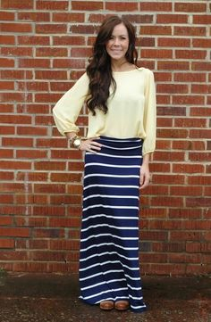 Sail On Maxi Skirt, $39.99 (small-large)