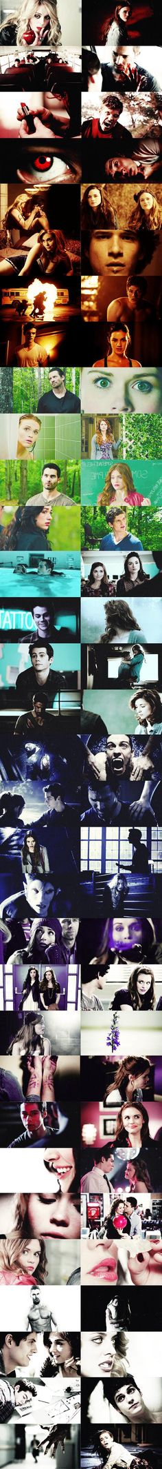 The colorful rainbow of Teen Wolfness!
