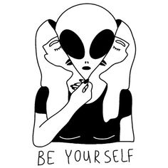 Discovered by Daniela. Find images and videos about gif, mascara and aliens on We Heart It - the app to get lost in what you love. Arte Alien, Alien Art, Art Et Design, Psy Art, Oeuvre D'art, Tattoo Inspiration, Art Inspo, Art Drawings, Illustration Art