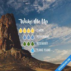 Wake Me Up - Essential Oil Diffuser Blend #essentialoilblends