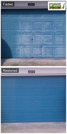Shutter Renu restored my 10YO faded light-blue shutter in a day. Few will believe that a day's work and a cleaner can pull it off.