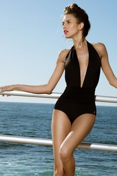 Eva One Piece in Black - Sauipe Swimwear