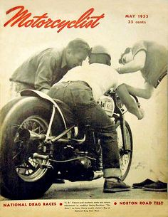 "gibsart: ""Motorcyclist 1953 """