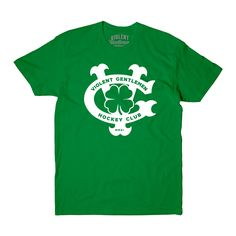 Patricks Day exclusive tee for hockey lovers and Violent Gentlemen fans. Gentleman, Tees, Mens Tops, T Shirt, Products, Fashion, Moda, T Shirts, Tee
