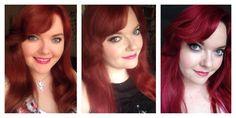 Makeup and Beauty by Amy: Red Hair Update - Retouching my hair using Manic Panic