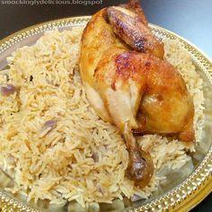 Mandi : Arabian Rice | Eggs & Kettles Middle East Food, Middle Eastern Recipes, Arabic Rice Recipe, Easy Cooking, Cooking Recipes, Rice Recipes, Dessert Recipes, Arabian Food, Egyptian Food