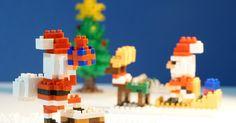 Des nanoblock pour passer un Joyeux nano-Noël !