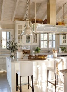 I so want to raise the roof in my kitchen!