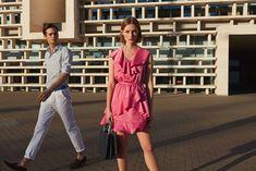 Wrap Dress, Dresses, Fashion, Vestidos, Moda, Fashion Styles, Dress, Fashion Illustrations, Gown