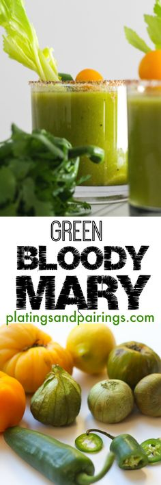 Tomatillo & Green Tomato Bloody Mary