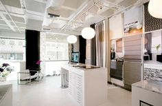 retail design | Custom Window Treatments Retail Shop Interior Design of The Shade ...