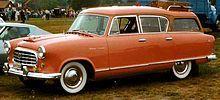 1955 Nash Rambler Cross Country station wagon