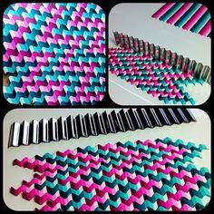 Bargello ondulado (Wavy Bargello) con las LC Wavy Blades que tenemos en la tienda   Flickr - Photo Sharing! Inspiration