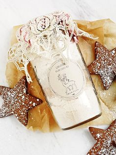 Organic Vegan Cookie Mix | Handmade in Nantucket, Massachusetts, this vegan cookie mix offers the main ingredients for a perfectly delicious treat to bake during the holiday season. Available in four different delectable flavors, all made with organic ingredients, these cookies will be the star of any holiday shindig.
