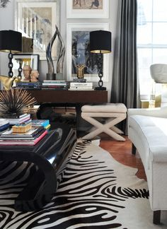 eclectic living room design by michael herold