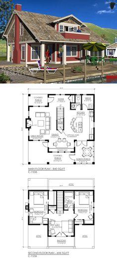 1536 sq. ft, 2 bedrooms, 1.5 bath.