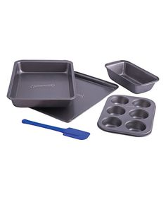 Look at this Five-Piece Nonstick Bakeware Set on #zulily today!