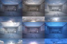 hdri sky lighting tutorial by Peter Guthrie