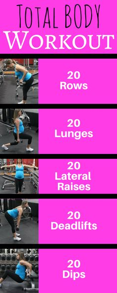 Total Body Prenatal Workout for the second trimester. #Gym