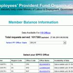 check epf balance online with epfo India login portal, pf status, epf account balance statement every month.track provident fund amount transactions today.