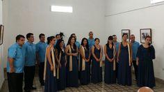 Choral group in Cienfuegos, Cuba.