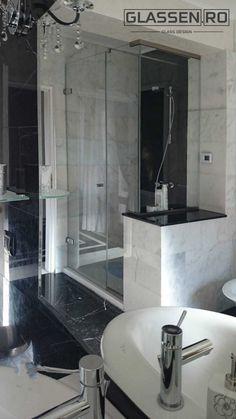 Cabina dus sticla securizata Shower Cabin, Glass Design, Bathtub, Bathroom, Cabin, Standing Bath, Washroom, Bathtubs, Shower Enclosure